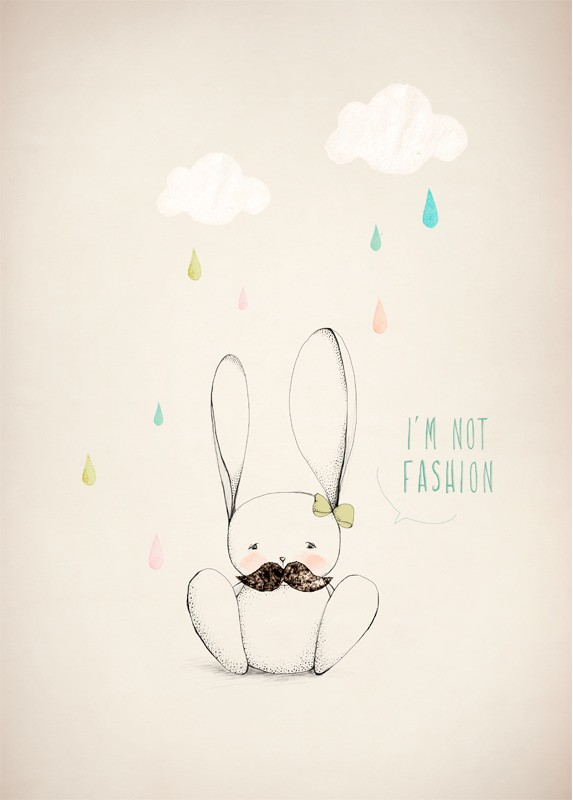 I'm not fashion by Caron Aline