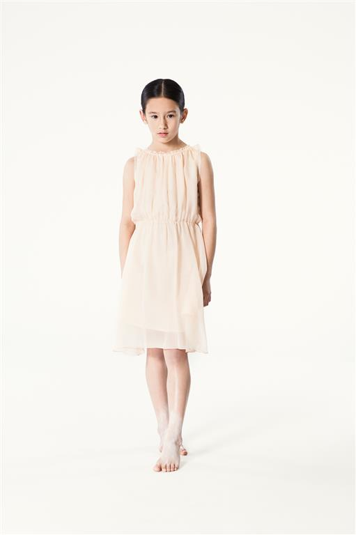 Roselle Dress Peach (Medium)